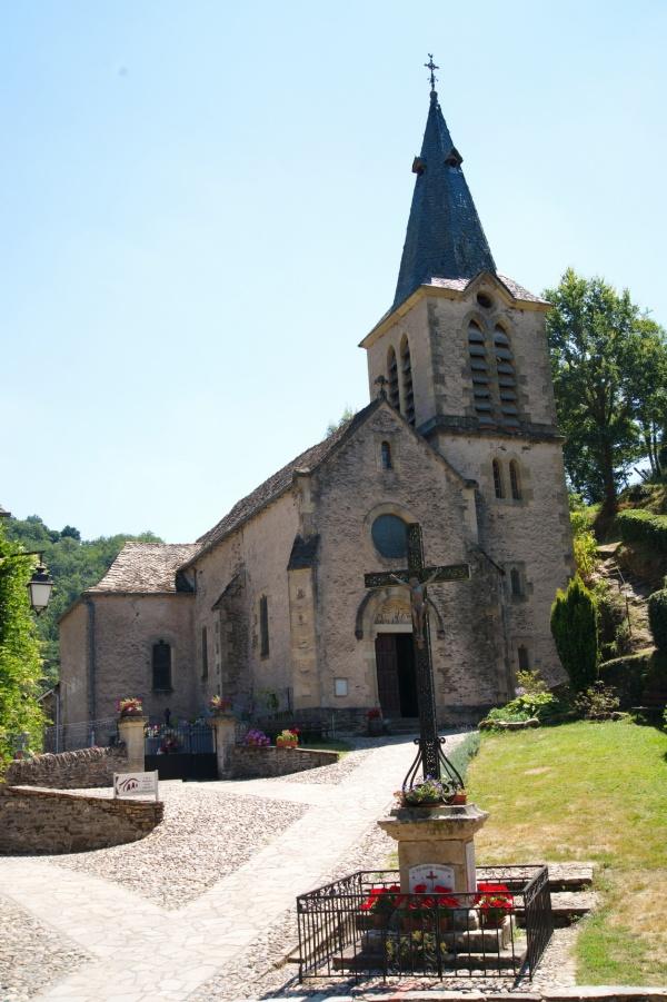 Photo Belcastel - L'Eglise  Sainte Madeleine XVe siècle