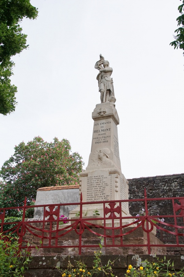 Photo Belmont-sur-Rance - le monument Aux Morts