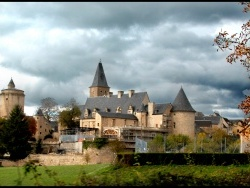 Photo paysage et monuments, Bournazel - le chateau
