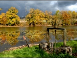 Photo paysage et monuments, Bournazel - l'etang