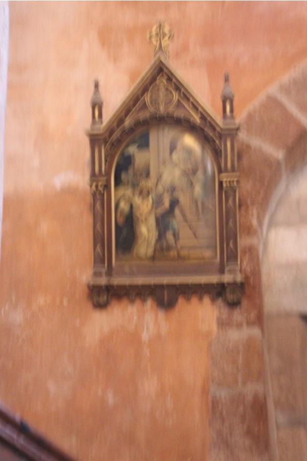 Photo Bozouls - église saint Fauste
