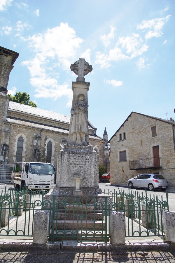 Photo Buzeins - le monument aux morts
