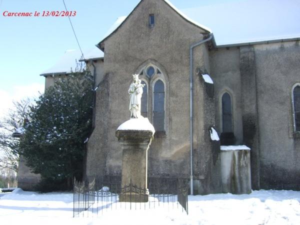 Photo Baraqueville - Eglise de Carcenac