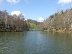 Photo paysage et monuments, Baraqueville - Plan d'eau à Carcenac sur la commune de Baraqueville