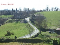 Photo paysage et monuments, Baraqueville - Village de Carcenac