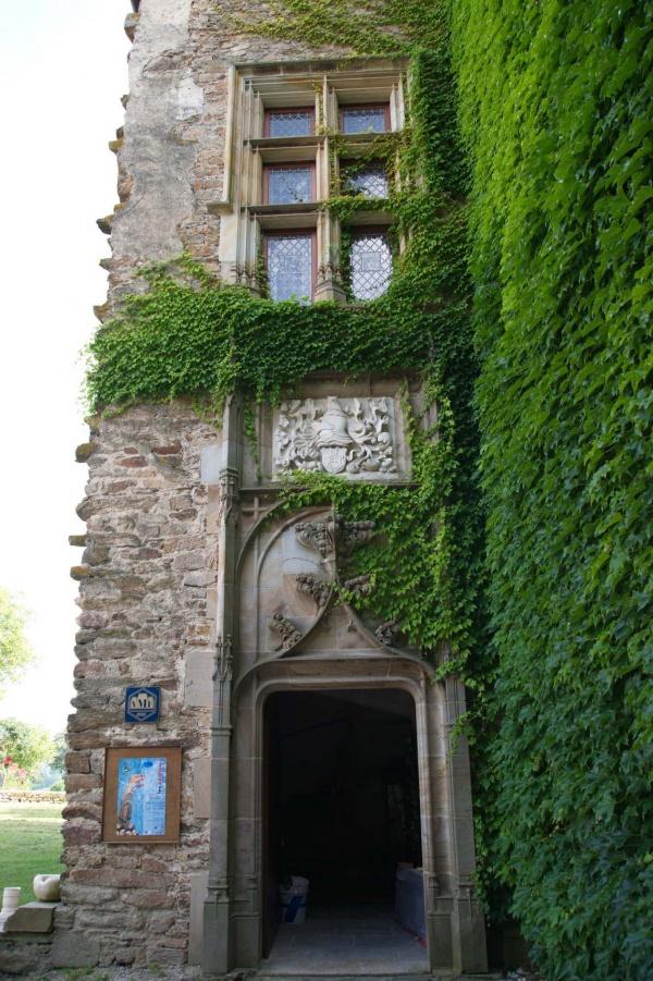 Photo Centrès - Entrée du Château de Taurines