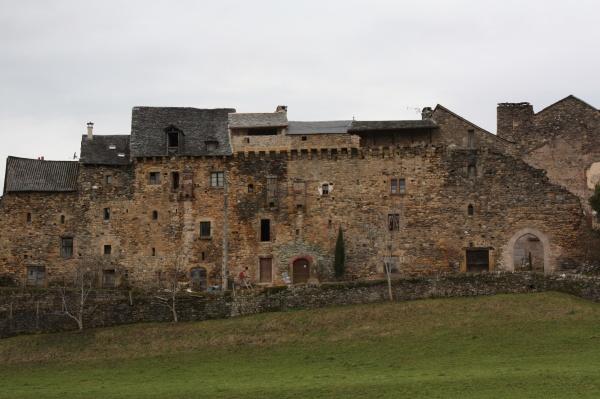 Photo Espalion - enceinte fortifiée du fort de Flaujac