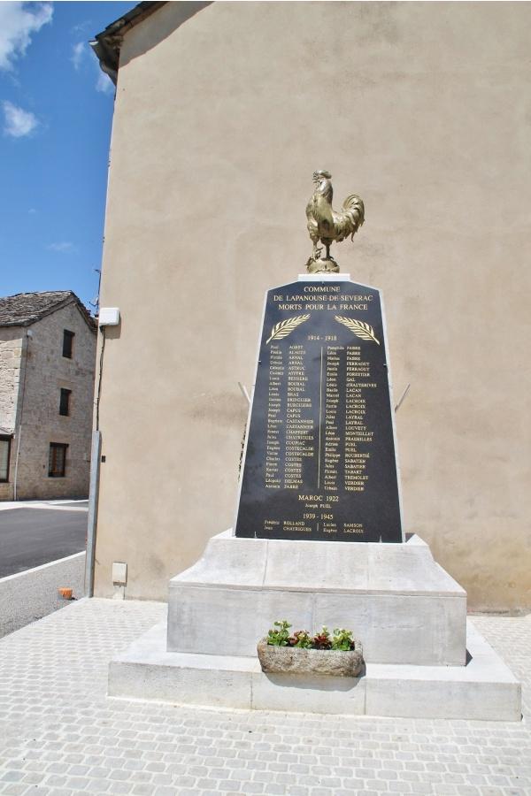 Photo Lapanouse - le monument aux morts