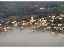 Photo paysage et monuments, Livinhac-le-Haut - brouillard
