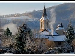 Photo paysage et monuments, Livinhac-le-Haut - l'hiver