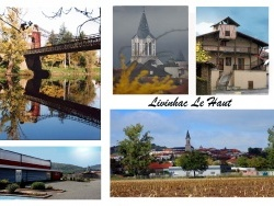 Photo paysage et monuments, Livinhac-le-Haut - carte