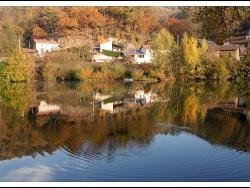 Photo paysage et monuments, Livinhac-le-Haut - reflets