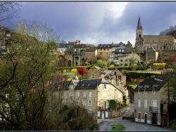 Photo paysage et monuments, Marcillac-Vallon - salle la source