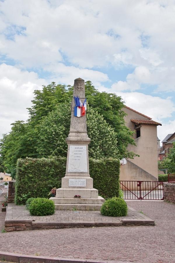 Photo Montlaur - le monument aux morts