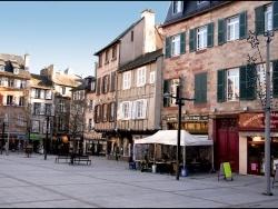 Photo paysage et monuments, Rodez - place du bourg