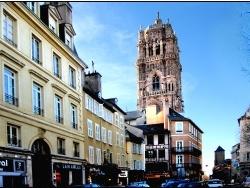 Photo paysage et monuments, Rodez - vue sur la cathedrale