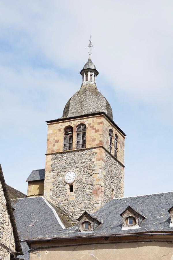 Photo Saint-Geniez-d'Olt - le clocher église st Geniez