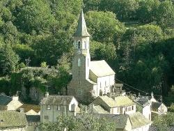 Photo paysage et monuments, Salmiech - L'église de Salmiech