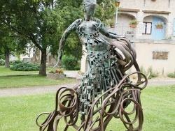 Photo paysage et monuments, Sébazac-Concourès - la statue