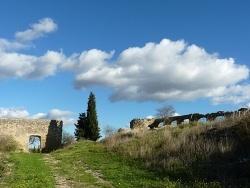 Photo paysage et monuments, Alleins - Ruines du château d'Alleins