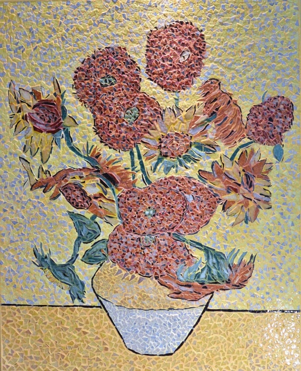 Arles -Les tournesols 7/7.Influence,Vincent Van Gogh.