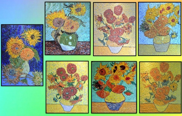 Arles - Les tournesols  .Influence,Vincent Van Gogh .