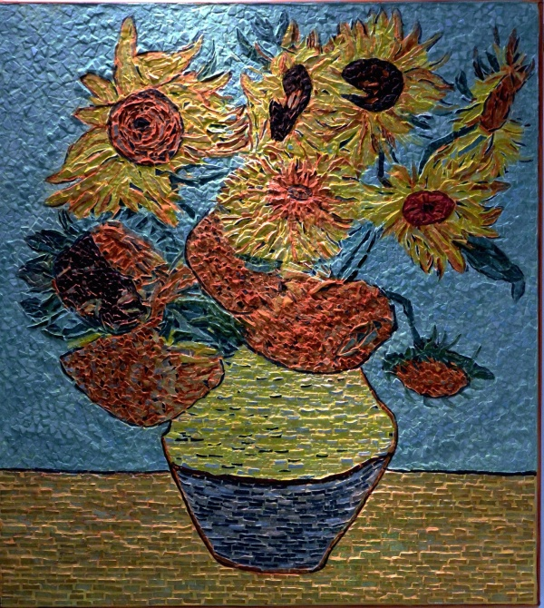 Photo Arles - Arles - Les tournesols 1/7 .Influence,Vincent Van Gogh Arles 1888.