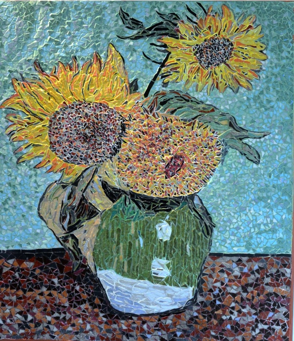Photo Arles - Arles - Les tournesols 2/7 .Influence,Vincent Van Gogh .