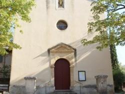 Photo paysage et monuments, Beaurecueil - église Notre Dame