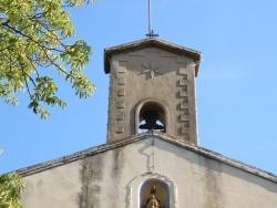 Photo paysage et monuments, Beaurecueil - clocher Notre Dame
