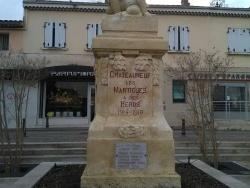 Photo paysage et monuments, Châteauneuf-les-Martigues - Monument aux morts