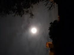 Photo paysage et monuments, Châteauneuf-les-Martigues - pleine lune
