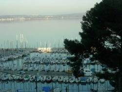 Photo paysage et monuments, Istres - Le port au crépuscule