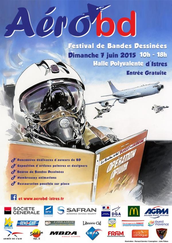 Affiche Festival Aérobd 2015