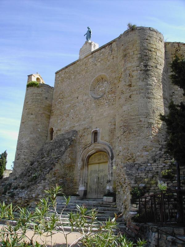 Photo Istres - N.D.de Beauvoir, façade ouest