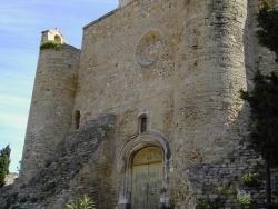 Photo paysage et monuments, Istres - N.D.de Beauvoir, façade ouest