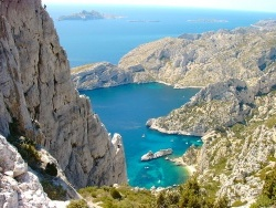 Photo paysage et monuments, Marseille - Calanque de Sugiton
