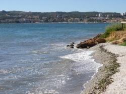 Martigues (13) - Le bord de l'étang aux Martigues
