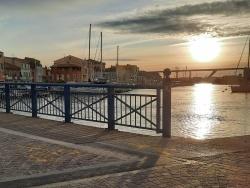 Photo paysage et monuments, Martigues - coucher de soleil, Ferrière