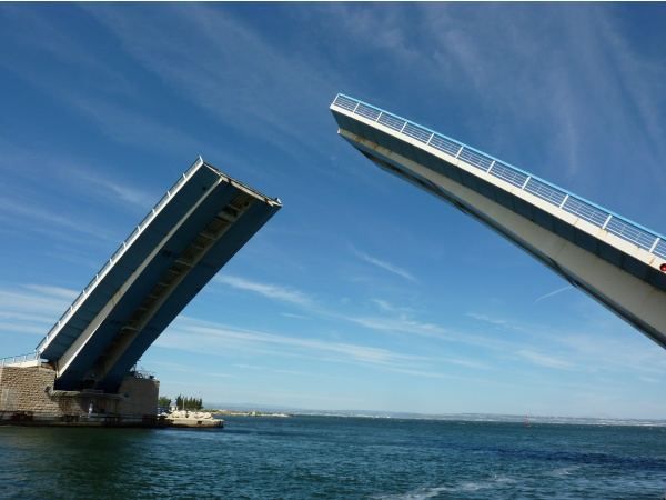 Photo Martigues - Pont levant de Martigues