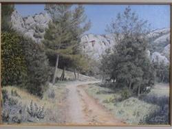 Photo dessins et illustrations, Orgon - Le vallon de Dacla