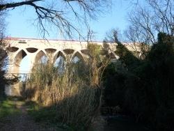 Photo paysage et monuments, Saint-Chamas - viaduc Sain-Léger