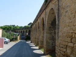 Photo paysage et monuments, Saint-Chamas - Aqueduc de Boisgelin