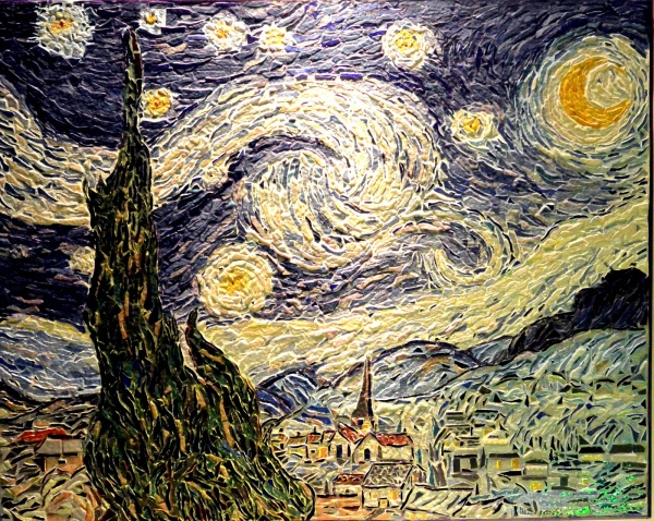 Photo Saint-Rémy-de-Provence - La nuit étoiléé à Saint Rémy de Provence,Influence,Vincent Van Gogh