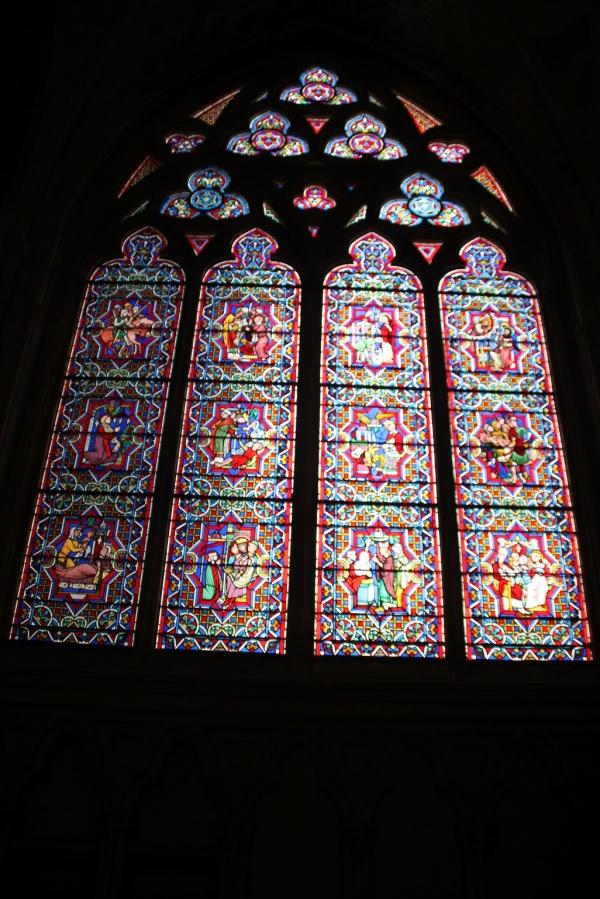 Photo Bayeux - Vitraux Notre Dame