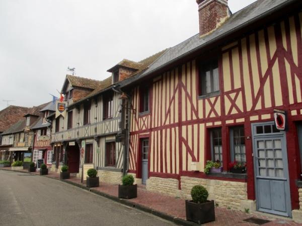 Photo Beuvron-en-Auge - maisons