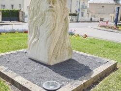 Photo paysage et monuments, Caumont-l'Éventé - la statue