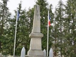 Photo paysage et monuments, Colombières - le monument aux morts