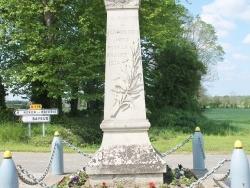 Photo paysage et monuments, Juaye-Mondaye - le monument aux morts