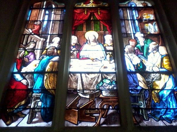 Photo Livarot - 1 vitrail de l'église